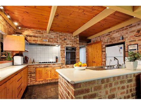 Brick Kitchen Design pin by 233 ta martin 237 kov 225 on kitchen