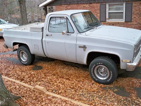 short bed silverado 1982 chevy silverado 4x4 short bed truck