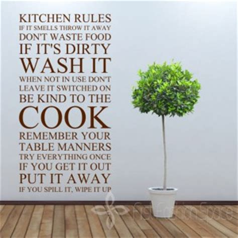 Kitchen Wall Decor Stickers country kitchen vinyl wall quotes quotesgram