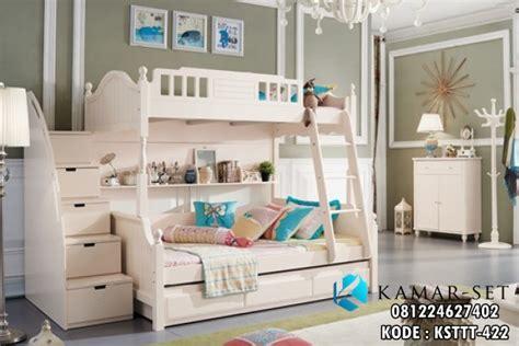 Kasur Anak 2 Tingkat tempat tidur anak 2 kasur tingkat ksttt 422 kamar set