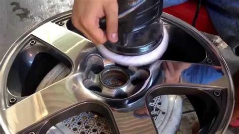 como pulir aluminio como pulir rines de aluminio