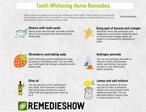 teeth whitening home remedies 9 ways for smile