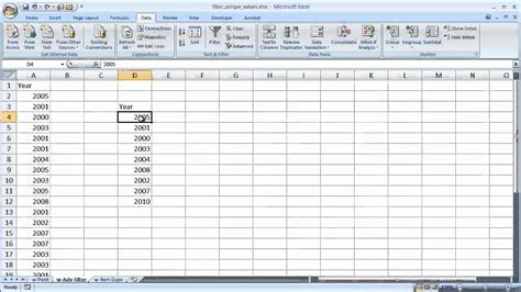 tutorial excel advanced filter excel advanced filter unique values how to count unique