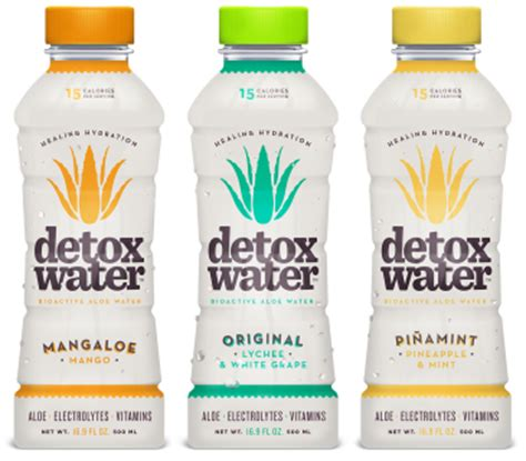 Detox Water Drink Aloe by Detox Water Appoints Abraham Foods As Its New York
