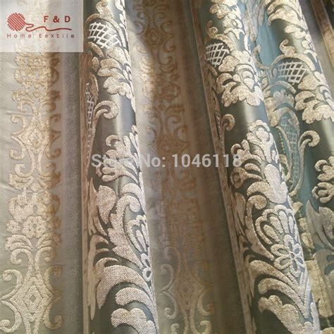 Fabric For Drapes And Upholstery by Aliexpress Buy 2016 Deluxe Stripe Flower Damask