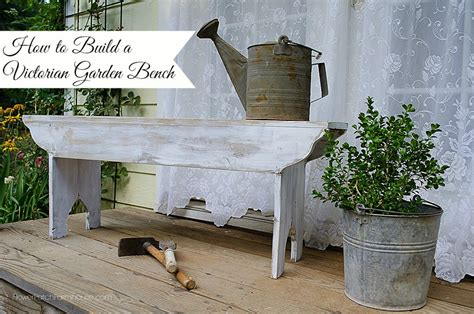 how to build garden bench how to build a victorian garden bench flower patch farmhouse