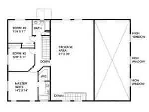 shop floor plans with living quarters plan 012g 0052 garage plans and garage blue prints from