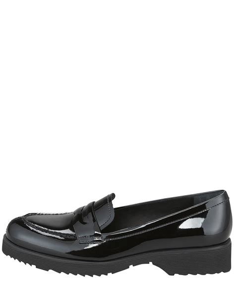 patent leather womens loafers prada womens patent leather loafer cofov
