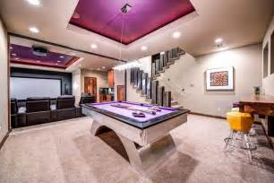 modern home design games modern game room with high ceiling carpet zillow digs