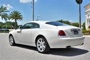 White Rolls Royce Wraith Rolls Royce Wraith In Carrara White For Sale