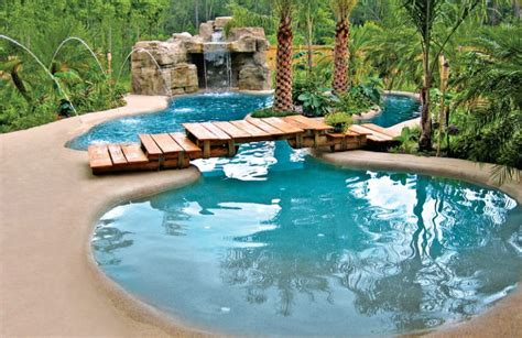 13 awesome backyard pools 20 awesome zero entry backyard swimming pools i e beach