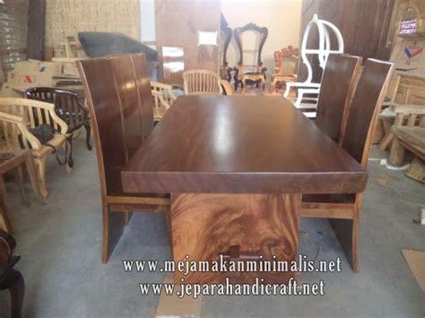 Meja Makan Termurah best seller set meja makan kayu trembesi harga termurah