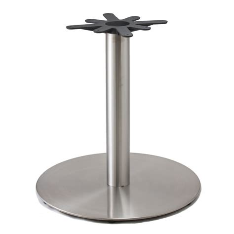 jss28 stainless steel table base jss series table bases