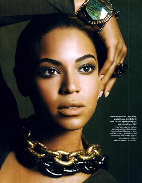 Beyonce In A by Beyonce Instyle Magazine Nov 08 Beyonce Photo 2740385