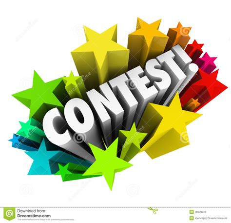 winner drawing software contest time clipart