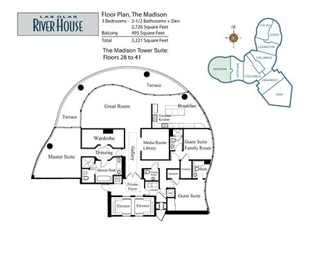 las olas river house floor plans the madison las olas river house