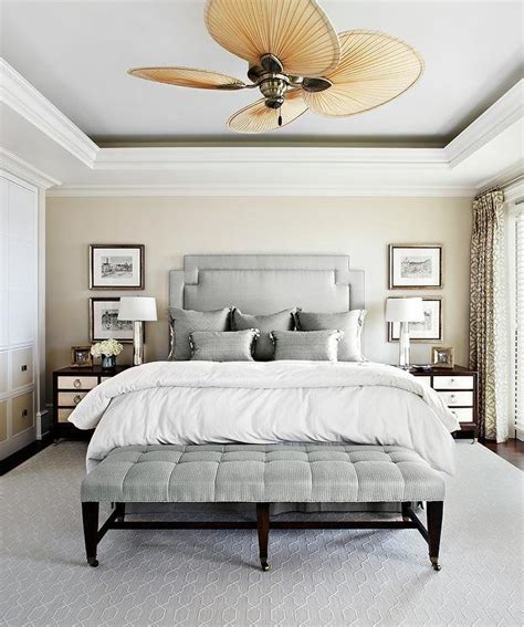 benjamin silver gray bedroom silver gray bedroom with tray ceiling and blade ceiling