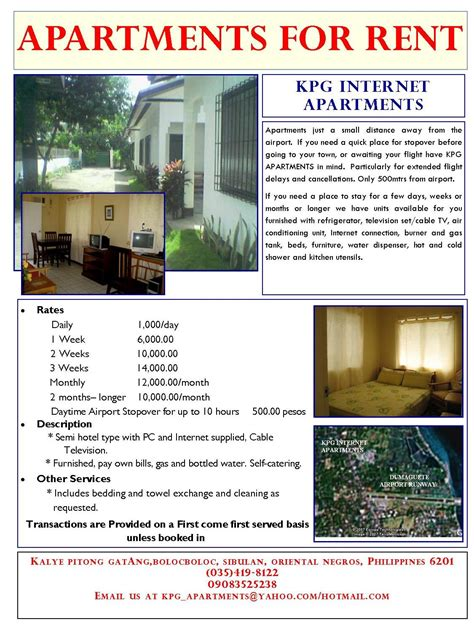 ideas apartments apartment rental flyer template for rent flyer home