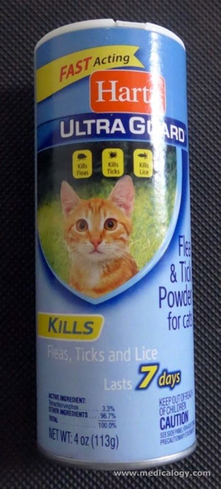 Bedak Kutu Kucing jual bedak kutu hartz flea tick powder for cats 113g