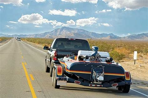 driving boat on trailer safe driving while towing a boat trailering boatus