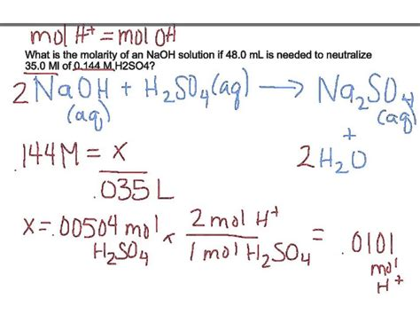 Titration Practice Problems Worksheet Answers