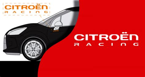 Racing Paradise Sticker by Tous Stickers Citroen Racing Monochrome