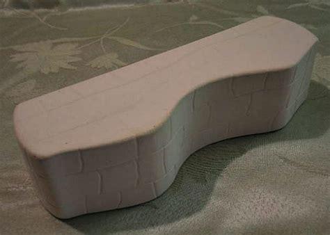 ceramic garden bench small unpainted ceramic wall bench statue for mini garden