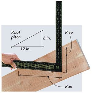 laying out a common rafter homebuilding