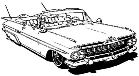 coloring pages of classic cars classic car coloring pages the old and muscle car