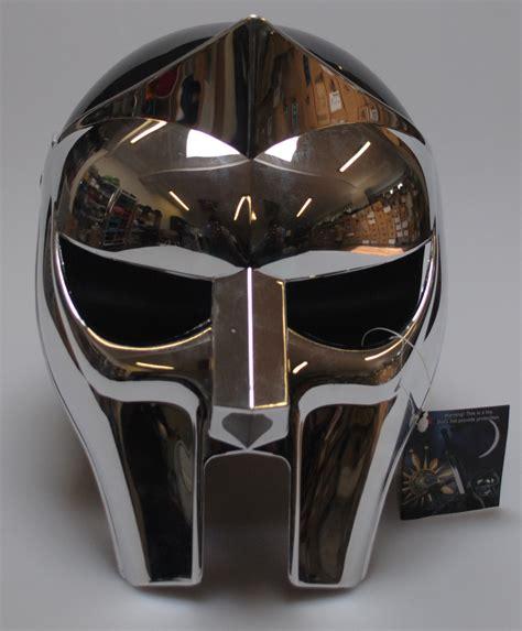Masker Helm Mask Masker Kacamata mf doom gladiator mask helmet reflective plastic chrome