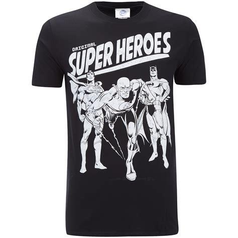Original Dc Tshirt Original by Dc Comics S Original Superheroes T Shirt Black