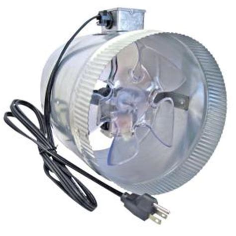 suncourt corded 8 in in line duct fan db208 crd the
