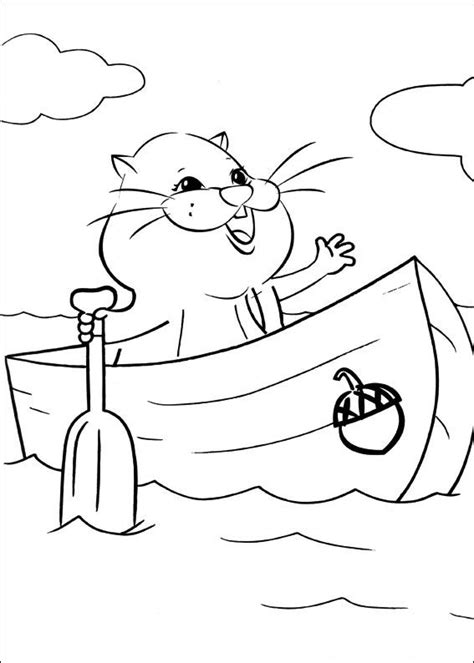 kids n fun com 40 coloring pages of zhu zhu pets