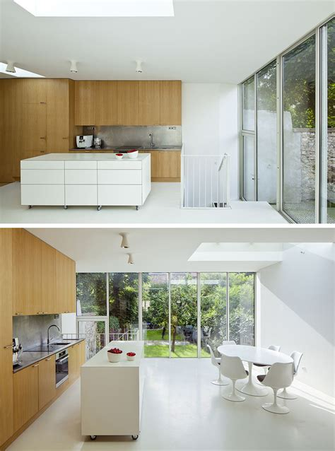 examples  kitchens  movable islands    easy  change  layout contemporist