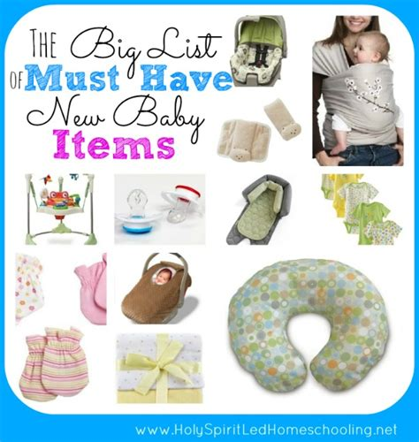 7 Must Haveb Aby Accessories by The Big List Of Must New Baby Items See The Items