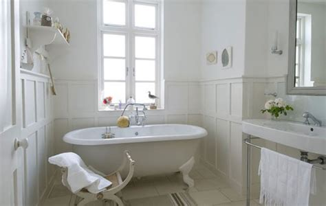 french style bathrooms ideas shabby and charme idee per un bagno total white total