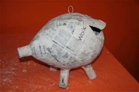 How To Make A Paper Mache Pig - make a pig pi 241 ata boy