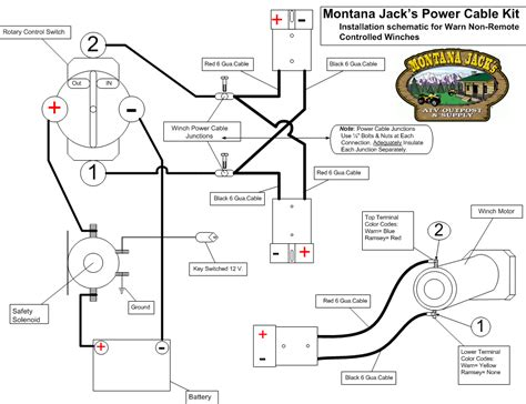 warn winch wiring diagram m8000 ai180 photobucket