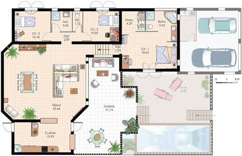 villa plans plan villa