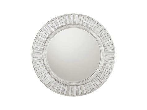 round silver bevelled mirror capital lighting 36 x36 beveled antique silver wall mirror m242443