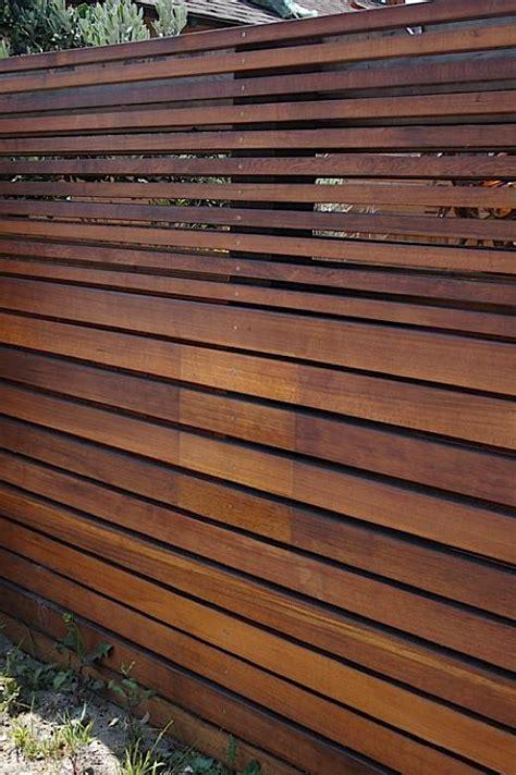 privacy fence slats fence horizontal slats ipe 3 neighborhood nursery