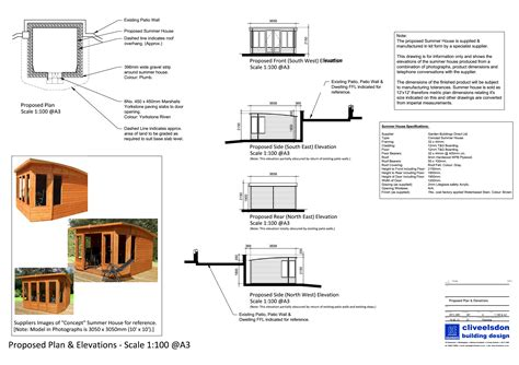 planning for house construction garden building planning application submitted by clive