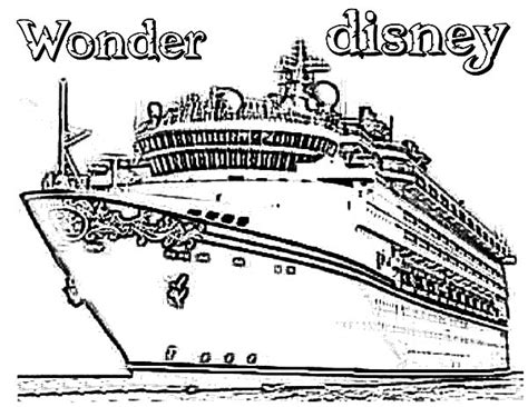 Free En Titanic Coloring Pages Disney Cruise Coloring Pages