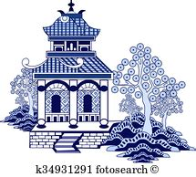 willow pattern close up blue willow illustrations and stock art 77 blue willow