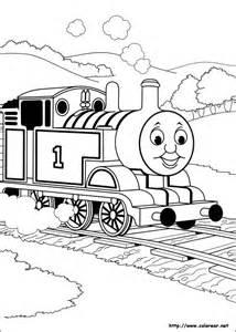 dibujos colorear thomas sus amigos