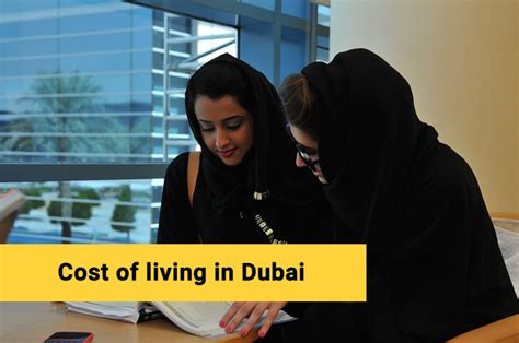 Bradford Dubai Mba Fees by Cost Of Studying In Dubai Living Expenses Tuition Fee