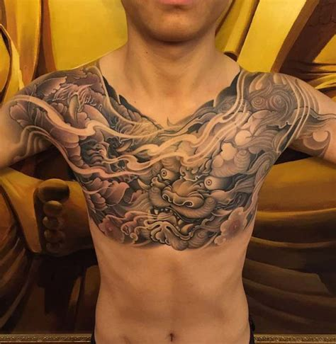 chest piece tattoos for guys chest tattoos insider