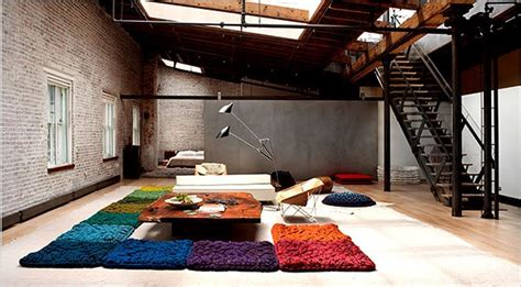 rug rental nyc in soho large scale felted wool for a loft the new york times
