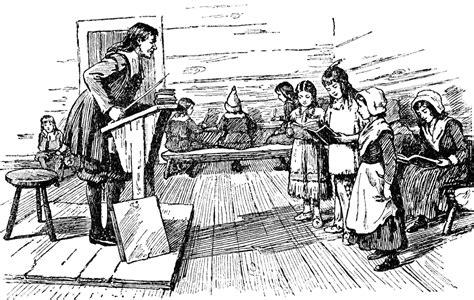 themes of children s literature in colonial america school clipart etc