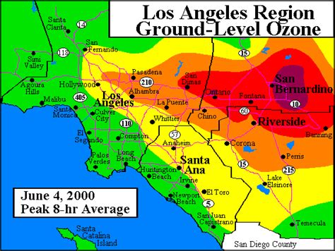 california air quality map air quality programs los angeles buyfreeware